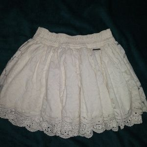 Cute full lace skirt